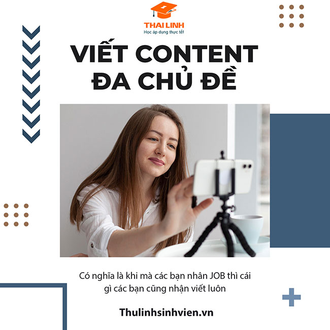 Nhận viết content đa chủ đề